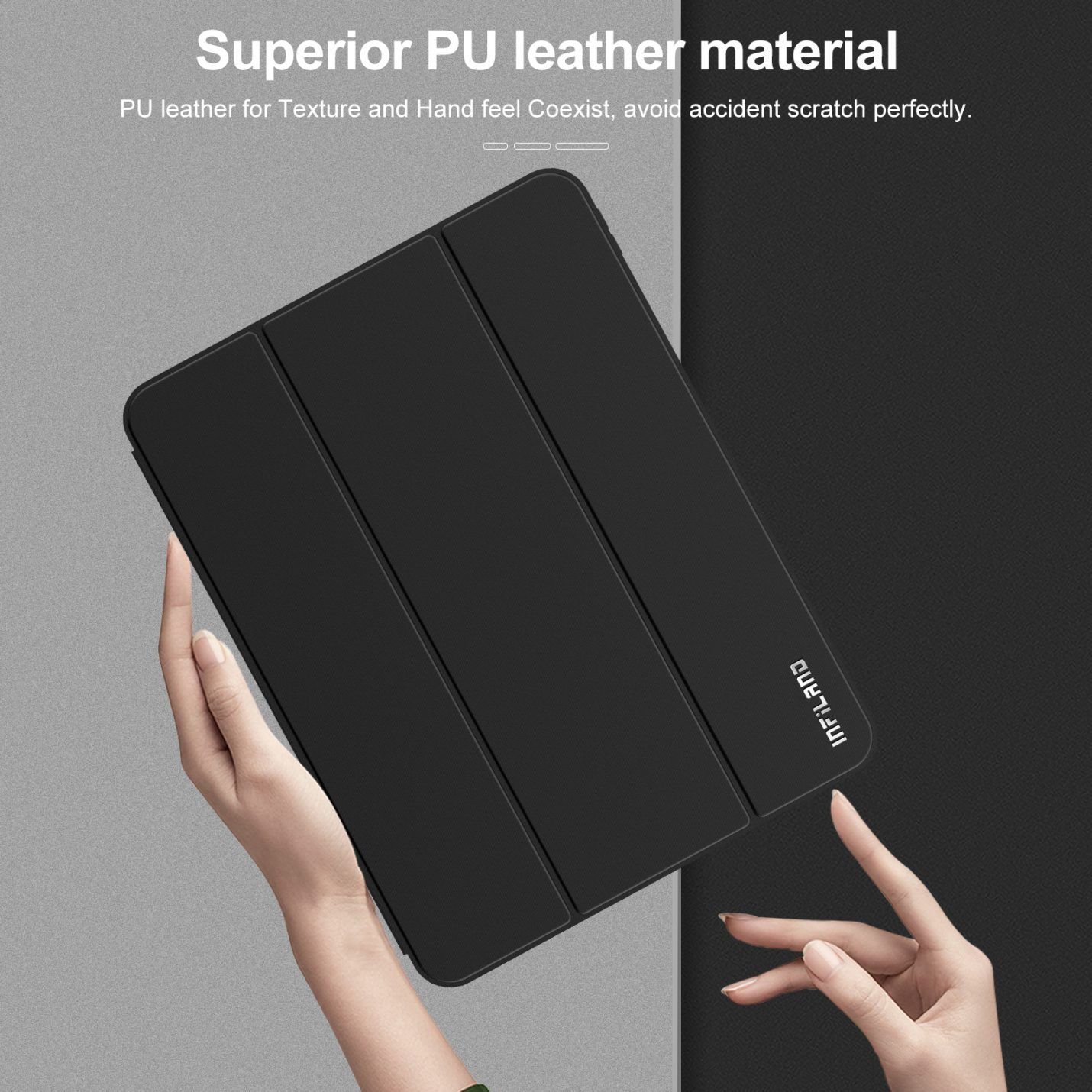 INFILAND Case for iPad Pro 11 inch 2021/2020/2018